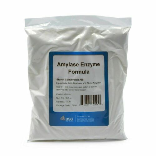 1 LB EXTREMELY FRESH AMYLASE ENZYME FORMULA ~ BSG BLUE RETAIL PACK ~