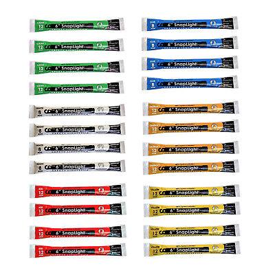 Cyalume Snaplight Light/Glow Sticks 24 Pack (Green, White, Red, Yellow, Blue..)](Green Light Sticks)