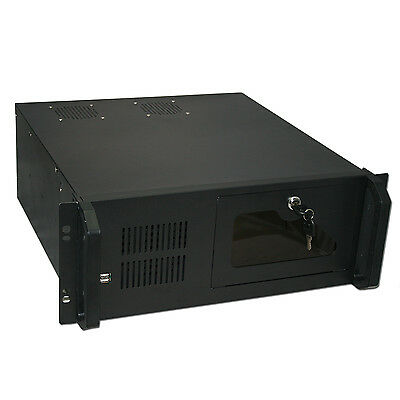 4U RACKMOUNT 455MM DEEP SERVER CASE - HIGH QUALITY STEEL