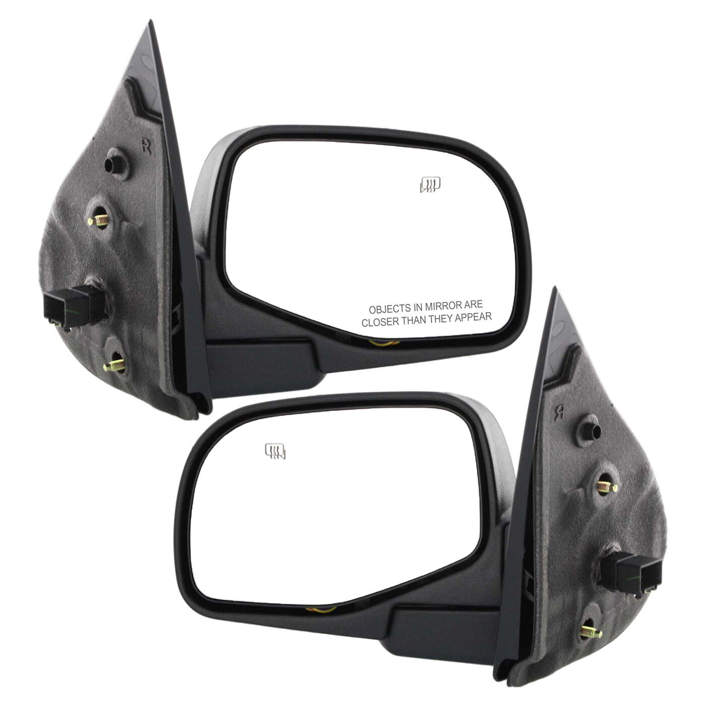 OE Replacement Ford Explorer//Mercury Mountaineer Driver Side Mirror Outside Rear View Partslink Number FO1320210