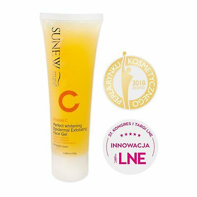 Deep Clean Gel (SUNEW MED  Facial Exfoliating Gel with Vit C Deep Remove Dead Skin Clean Face )