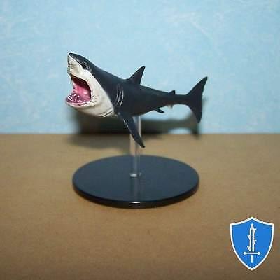 Shark - Skull & Shackles #32 Pathfinder Battles D&D - Miniature Sharks