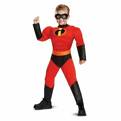 DASH Incredibles TODDLER Muscle Costume w/ SOUND 2 3 4 Halloween