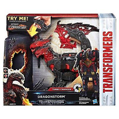 Transformers: The Last Knight Mega 1-Step Turbo Changer Dragonstorm - NEW