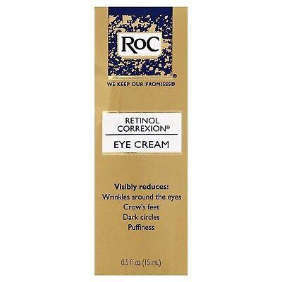 New RoC Retinol Correxion Anti-Aging Eye Cream Treatment 0.5 Fl. Oz.