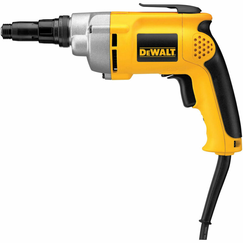 DeWalt DW268 Variable Speed Versa-Clutch Screwdriver, Reversible