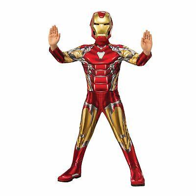 Iron Man MUSCLE Boys Costume S M Child Kids Halloween Marvel - Ironman Kostüm Kid