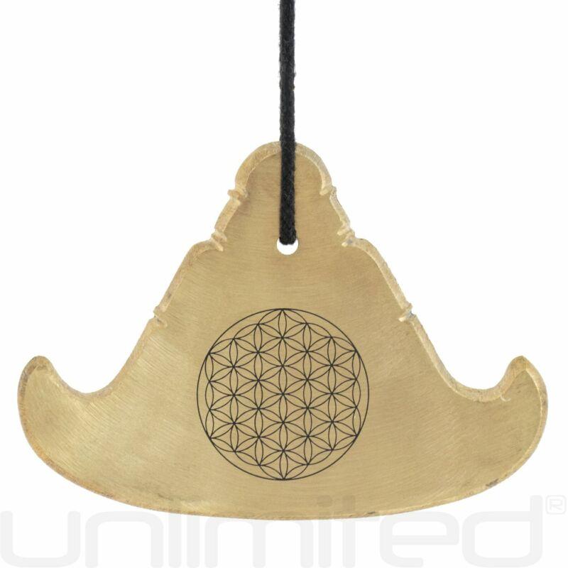 Flower of Life Engraved Kyeezees (Burma Bells)