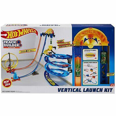 Hot Wheels Track Builder Vertical Launch Kit (2019 Hot Christmas Gift)
