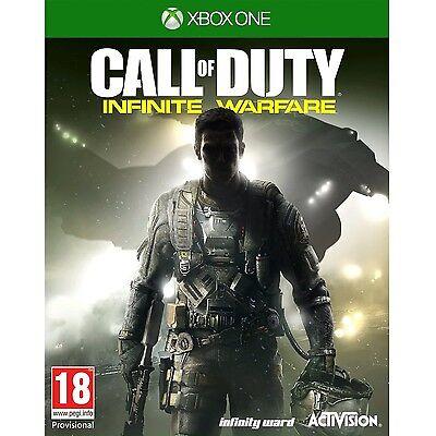 Brand New Call of Duty: Infinite Warfare Video Game (Microsoft Xbox One, 2016)