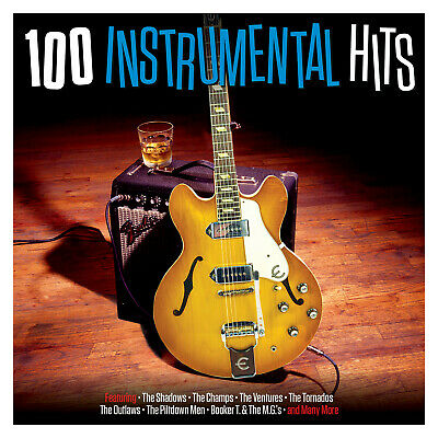100 Instrumental Hits VARIOUS ARTISTS Best Of 100 Songs ESSENTIAL MUSIC New 4