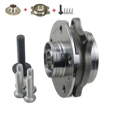 Wheel Hub + Bearing +Bolts Kit Audi A4 A5 A6 A8 Q5 2007-2018 4H0498625 Front