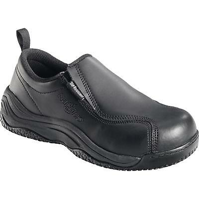 - New Mens Nautilus N110 Pull on on SR black leather composite toe work shoe