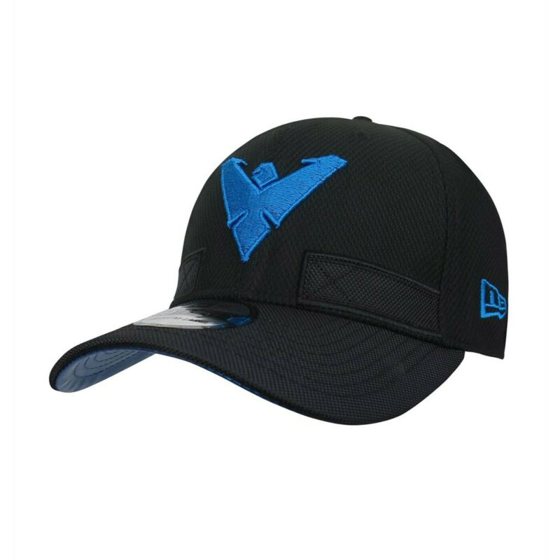 Nightwing Symbol Armor 39Thirty Fitted Hat Black