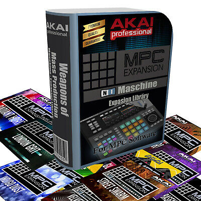 Akai MPC Expansion /NI Maschine Library: Immediate delivery-Over 60 Expansions!!
