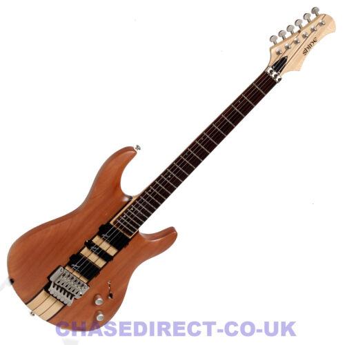 Shine SIT701 Super Strat Electric Guitar With Floyd Rose Tremolo Thru Neck - Z82