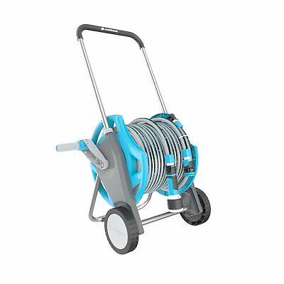 Hose Cart Jet Gun Set Discover 30m Cellfast Garden Attachment portable reel cart
