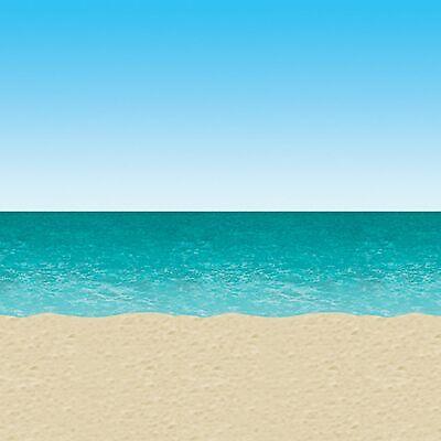 Ocean Und Strand Hintergrund Szene Setter Party Dekoration