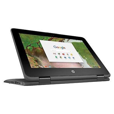 "HP Chromebook x360 Touch 11-ae027nr 11.6"" Laptop N3350 1.10GHz 4GB 16GB ChromeOS"