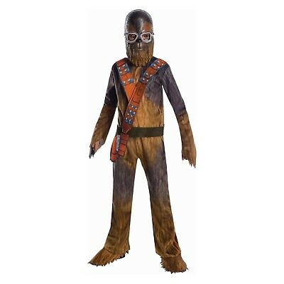 Rubies Toddler Boy Small 4-6 Ages 3-4 Star Wars Chewbacca Halloween Costume - Toddler Chewbacca Costume