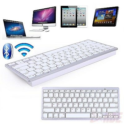 Wireless Keyboard Bluetooth 3.0 for iPad-MacBook Computer Android Phone Tablet