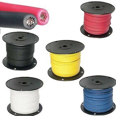18 Ga Gxl Standard Wall Automotive 12v Electrical Wire 8 Color Options Waytek
