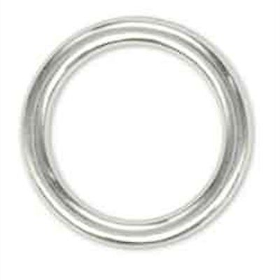 Solid Ring Chrome Plated 1