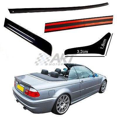 Aleron para Bmw E46 Cabrio 1999-2005 spoiler alerón de poliuretano + adhesivo...