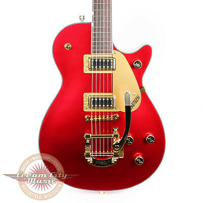 Brand New Gretsch G5435TG-CAR Limited Electromatic Pro Jet in Candy Apple Red