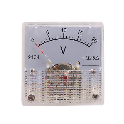 Dmiotech Mini Measuring Dc Analog Volt Voltage Panel Meter Pointer Voltmeter