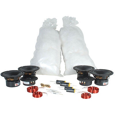 TriTrix MTM TL Speaker Kit Components Only Pair