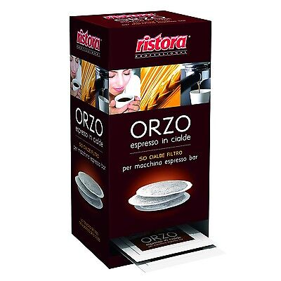 Orzo Espresso in Cialde Ristora - 50 cialde filtro per macchina espresso...