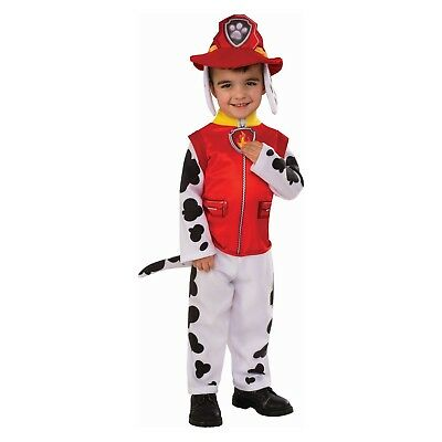 2t Puppy Costume (Toddler Boys 2T/3T-2/3 PAW Patrol Marshall Costume~Sound~Pup Pack)