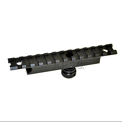 "Carry Handle Rail Mount 12 Slots Picatinny 5.3"" for Sight/Scope/ACOG or similar"
