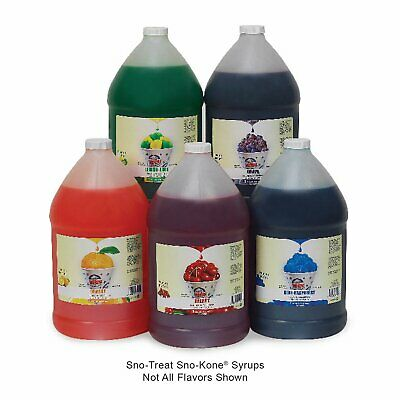 Snow Cone Syrup Sno Cone Syrup 1 Gallon Minimum 2 Or More Free Shipping