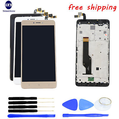 LCD Screen Display+Digitizer Touch+Tools +Frame For XIAOMI HONGMI REDMI NOTE 4X 4' Touch Screen Display
