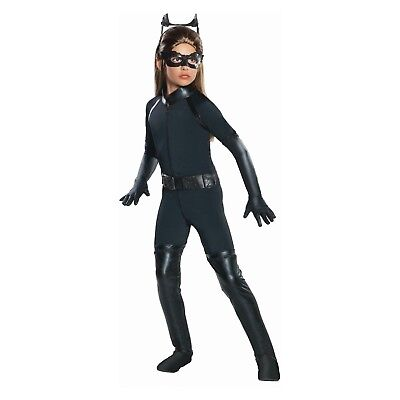 Girls' DC Comics Catwoman Halloween Costume size MEDIUM 8-10](Catwoman Halloween Costume For Girls)