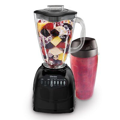 Oster Simple Blend 100 10-Speed Blender with Blend and Go