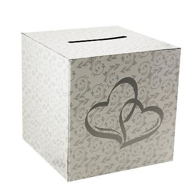 Wedding Card Money Gift Box Two Hearts Reception Wishing Well Decoration Supply (Card Box)