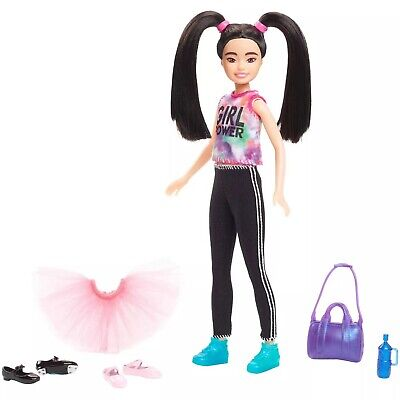 BARBIE TEAM STACIE Tap Dance and Ballet Playset Asian Doll + Accessories NEW