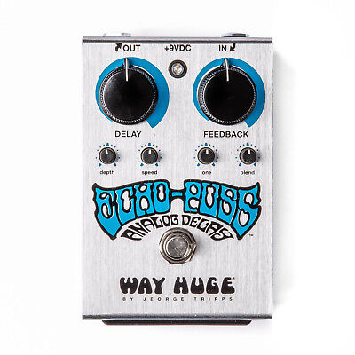 Way Huge WHE702S Echo-Puss Analog Delay Guitar Effect Pedal - New