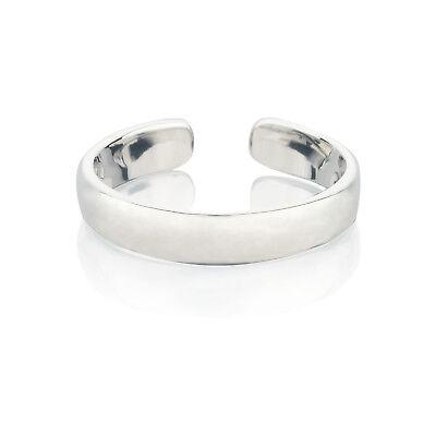 Zehenring Fußschmuck Damen Herren verstellbar Sterling Silber Modell 8