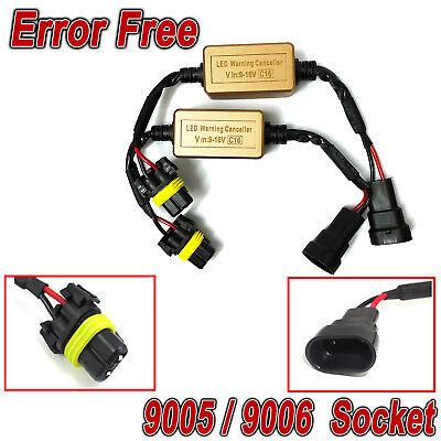 9005 9006 Headlight Canbus Decoder Error Free Anti Flicker Flash Error Canceler