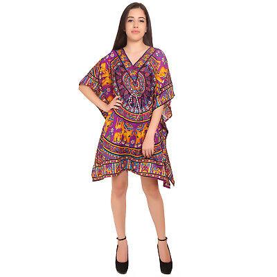 Short Caftan - Short-Kaftan-dress-Hippy-Boho-Maxi-Plus-Size-Women-Caftan-Tunic-Dress-Night-Gown