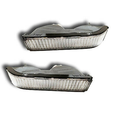 (Fits 88-02 Chevrolet Blazer C K Suburban Tahoe Turn Signal Parking Light 1 Pair)