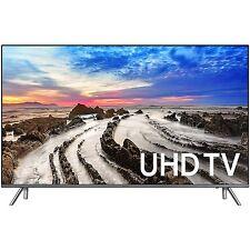 "Samsung UN65MU8000 65"" 4K Ultra HD Smart LED TV (2017 Model) MU8000"