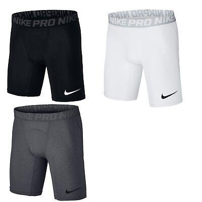 Nike Dri-fit Compression Shorts (Nike Pro Herren Shorts Compression Short kurze Hose kurz schwarz grau Dri.FIT)
