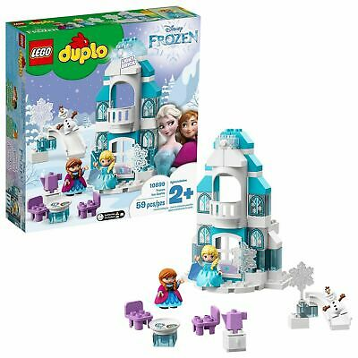 LEGO Duplo 10899 Authentic Disney Frozen Ice Castle Princess Anna & Elsa Toy Set