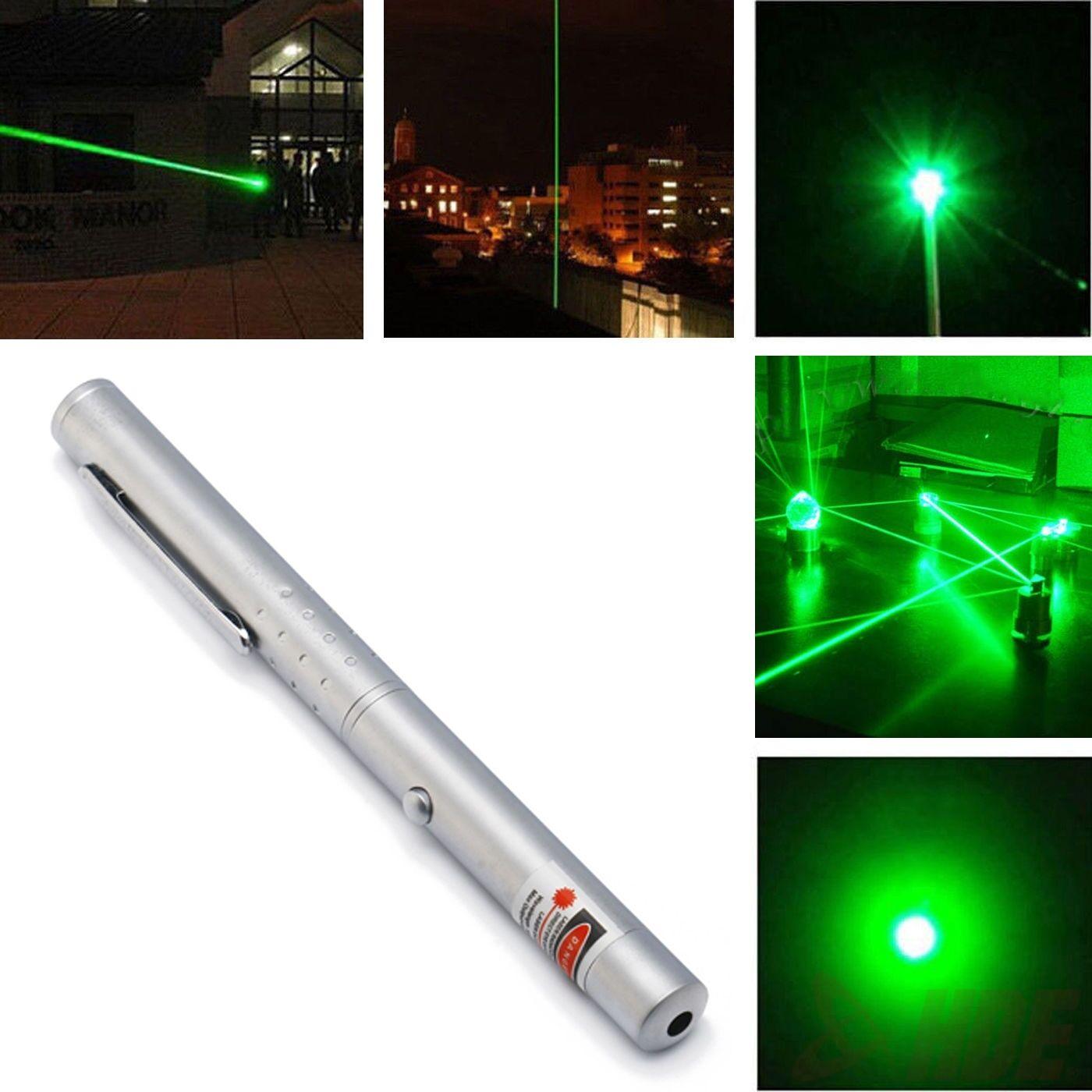 Military High Power Green Laser Pointer Light Beam Pointer
