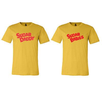Sugar Babies Costume (Sugar Daddy Sugar Babies Halloween Costume Couples Costumes Tee Unisex T)